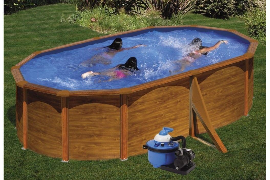 Bazén GRE Pacific 5,0 x 3,5 x 1,2m set + písková filtrace 4,5m3/h