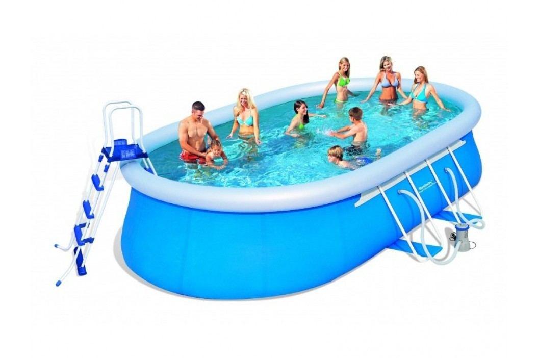 Bazén Bestway ovál 5,49 x 3,66 x 1,22m set včetně příslušenství