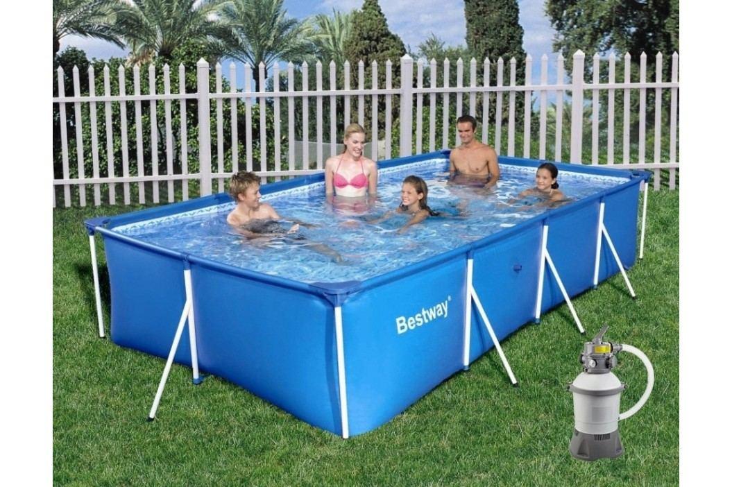 Bazén Bestway s konstrukcí 3,00 x 2,01 x 0,66m písková filtrace 2m3/hod