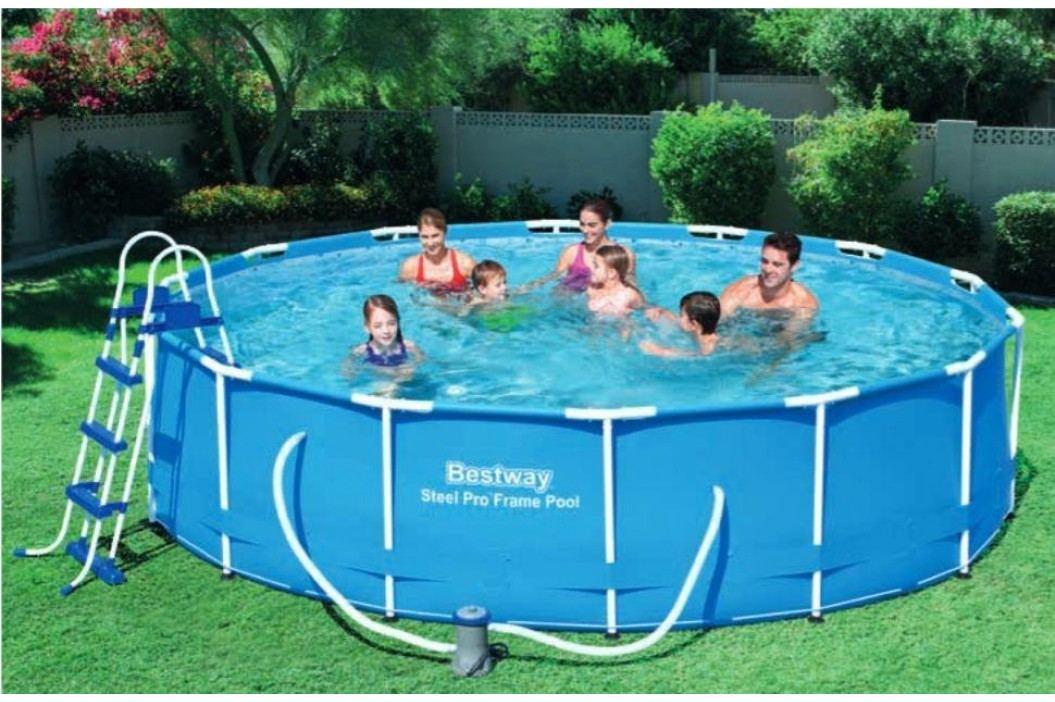 Bazén Bestway s konstrukcí 4,57 x 1,07 m písková filtrace 4m3/hod