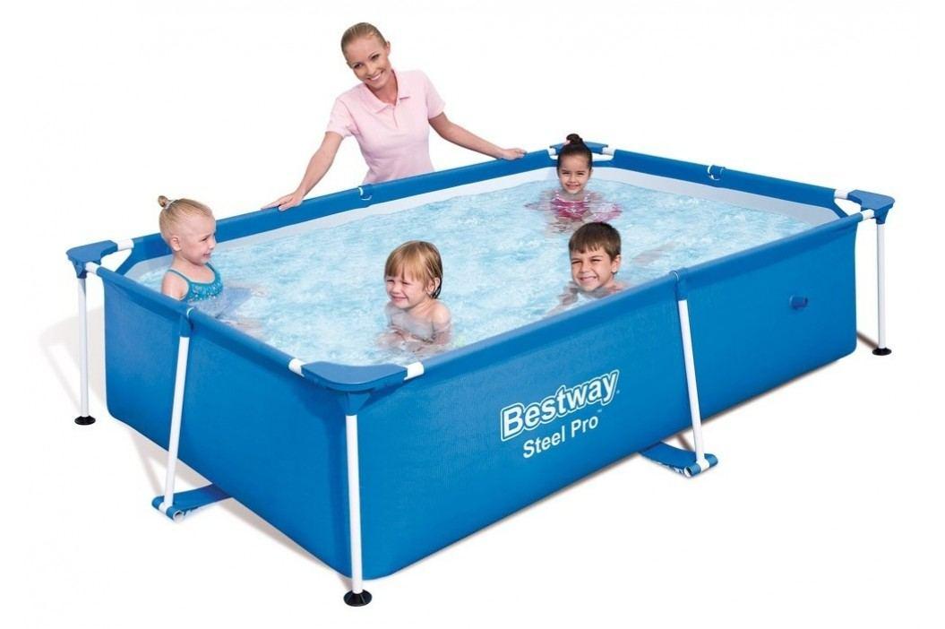 Bazén Bestway s konstrukcí 2,21 x 1,50 x 0,43m písková filtrace 2m3/hod