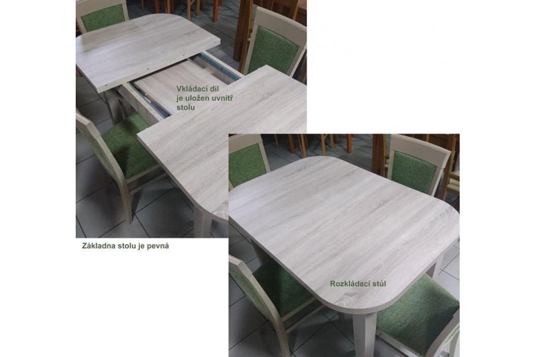 Stima Jídelní stůl Peru rozkládací 80x80/120 cm