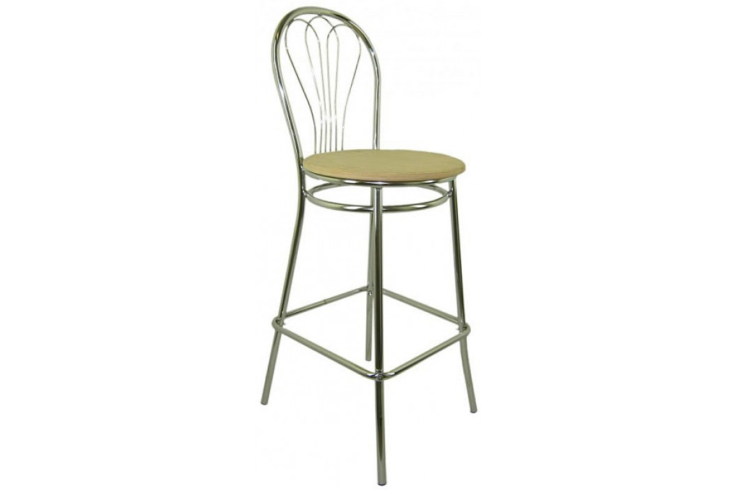 Sedia Barová židle Venus Hocker dřevěná obrázek inspirace