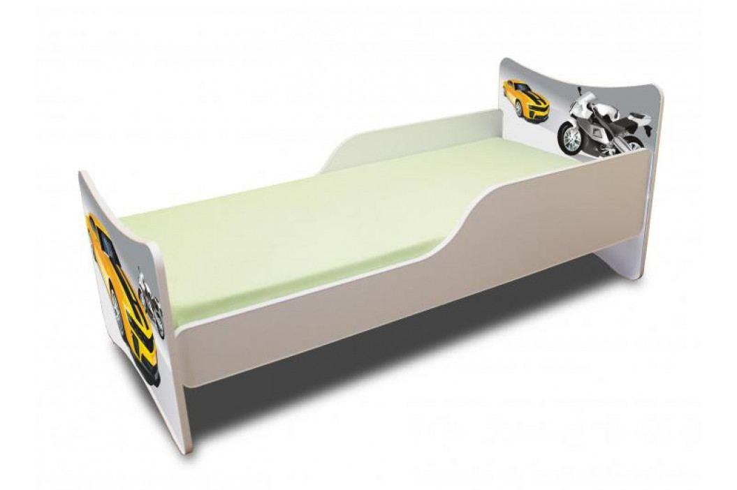 Forclaire Dětská postel ZÁVODNÍK Postel s úložným prostorem 160x70cm