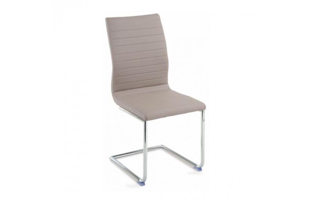 Tempo Kondela Židle OTILA - béžová ekokůže