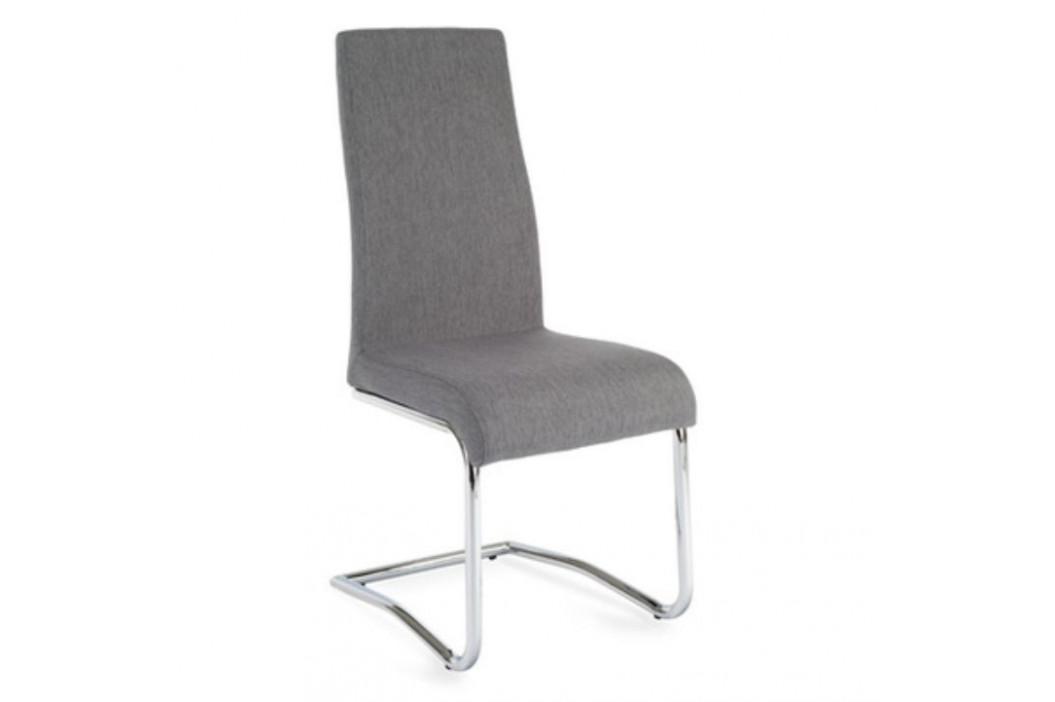 Tempo Kondela Jídelní židle AMINA - světle šedá obrázek inspirace