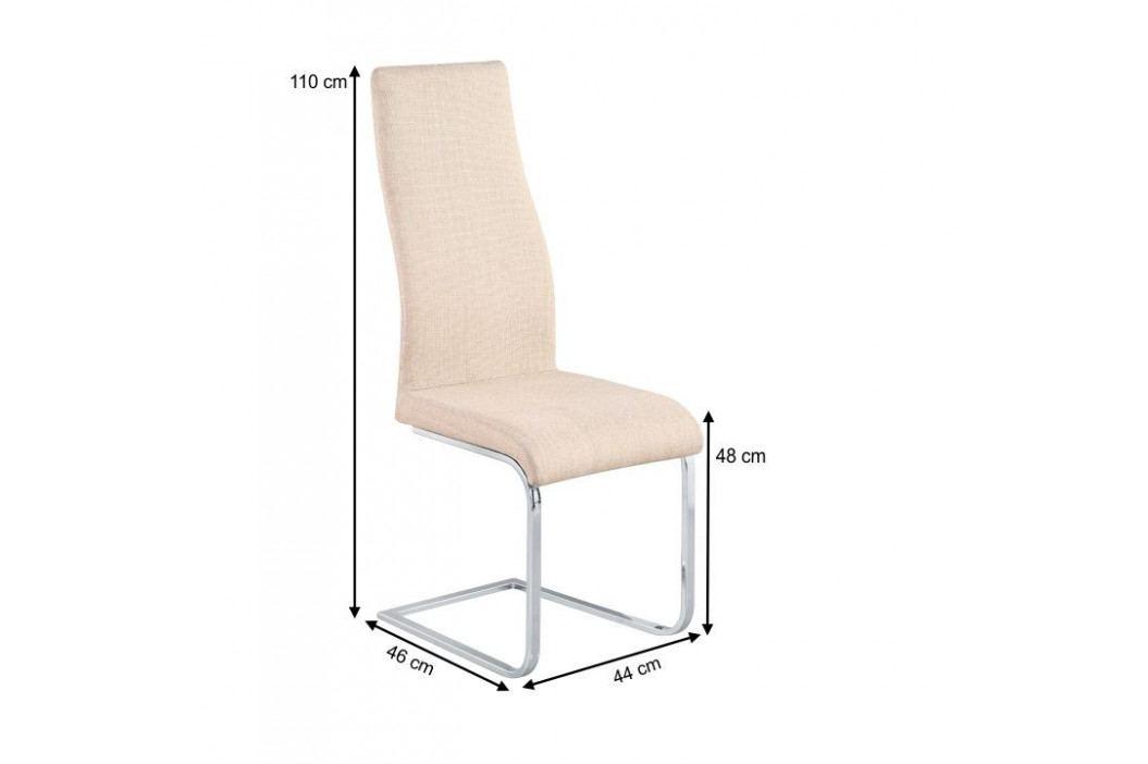 Tempo Kondela Jídelní židle AMINA - béžová