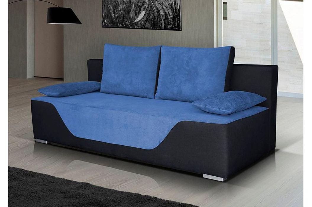 Falco Pohovka Nanny - modrá/černá