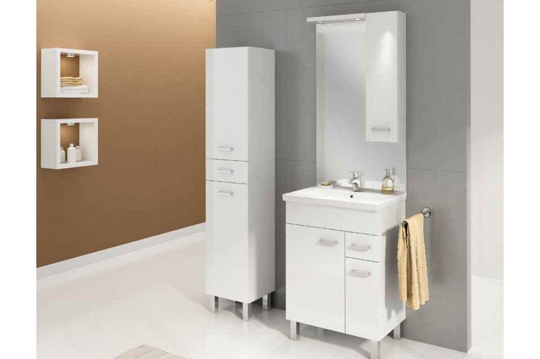 Falco Koupelnová sestava Catania Z60 - bílá/bílý lesk