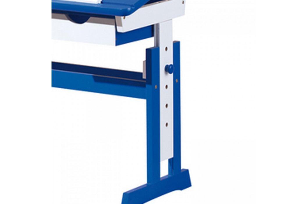 Idea PACO psací stůl modro/bílý