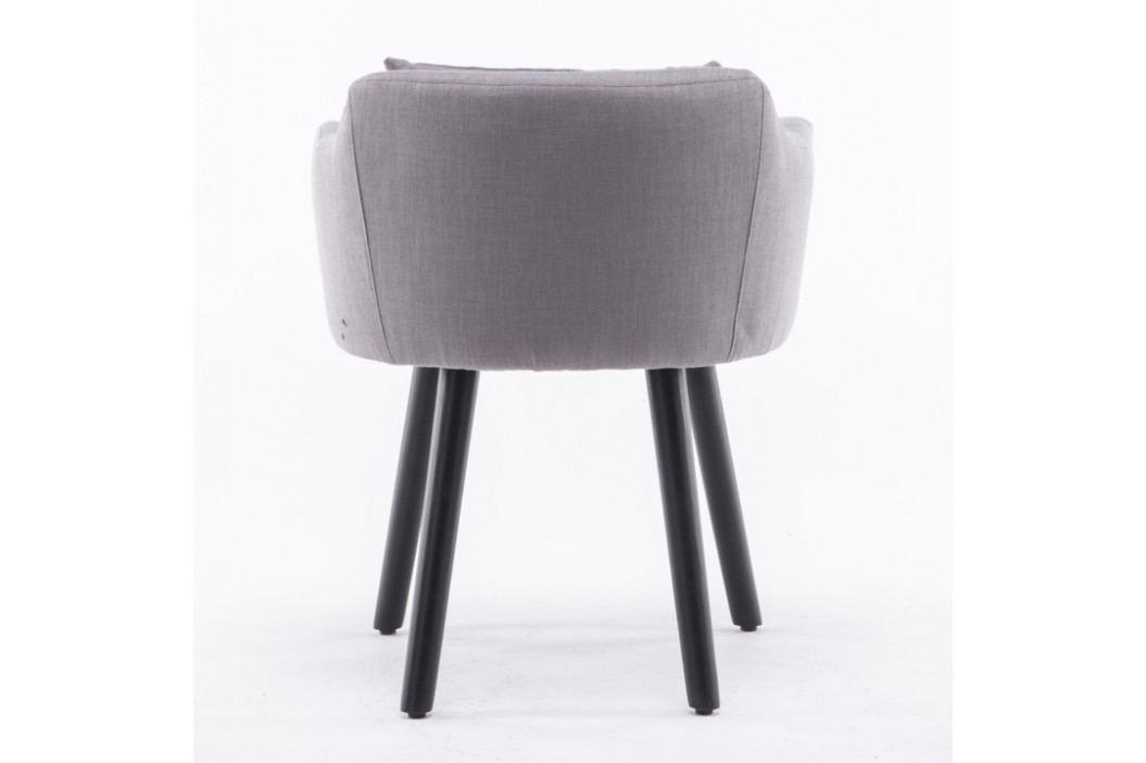 Tempo Kondela Designové křeslo DIPSY - šedo hnědá obrázek inspirace