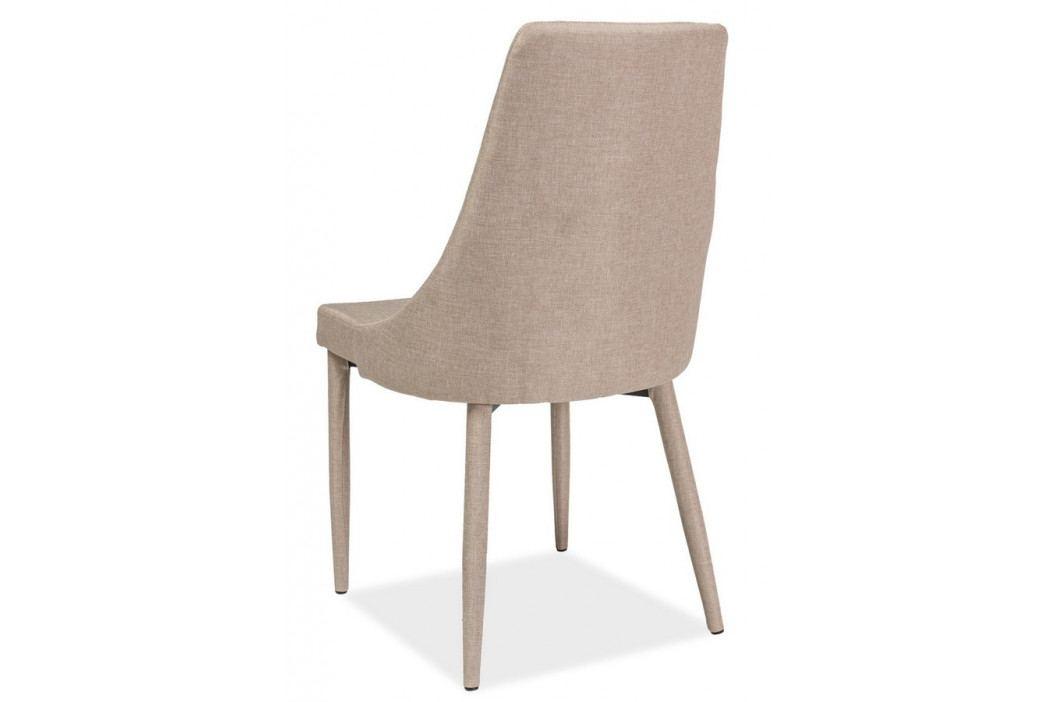 Casarredo Jídelní čalouněná židle TRIX béžová obrázek inspirace
