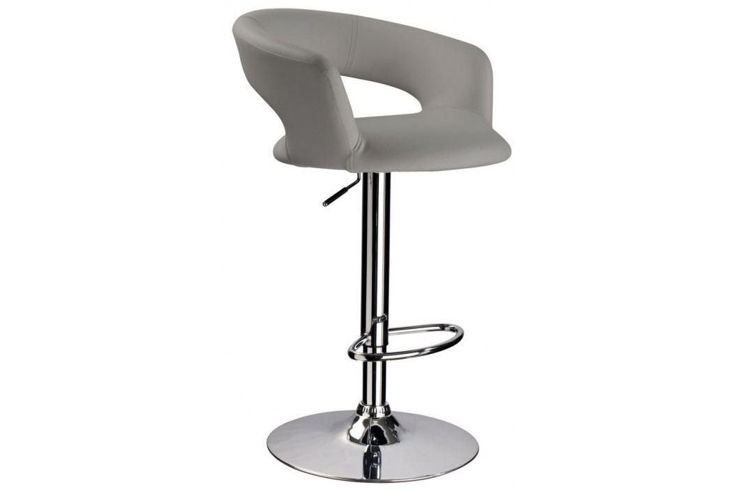 Casarredo Barová židle KROKUS C-328 šedá obrázek inspirace