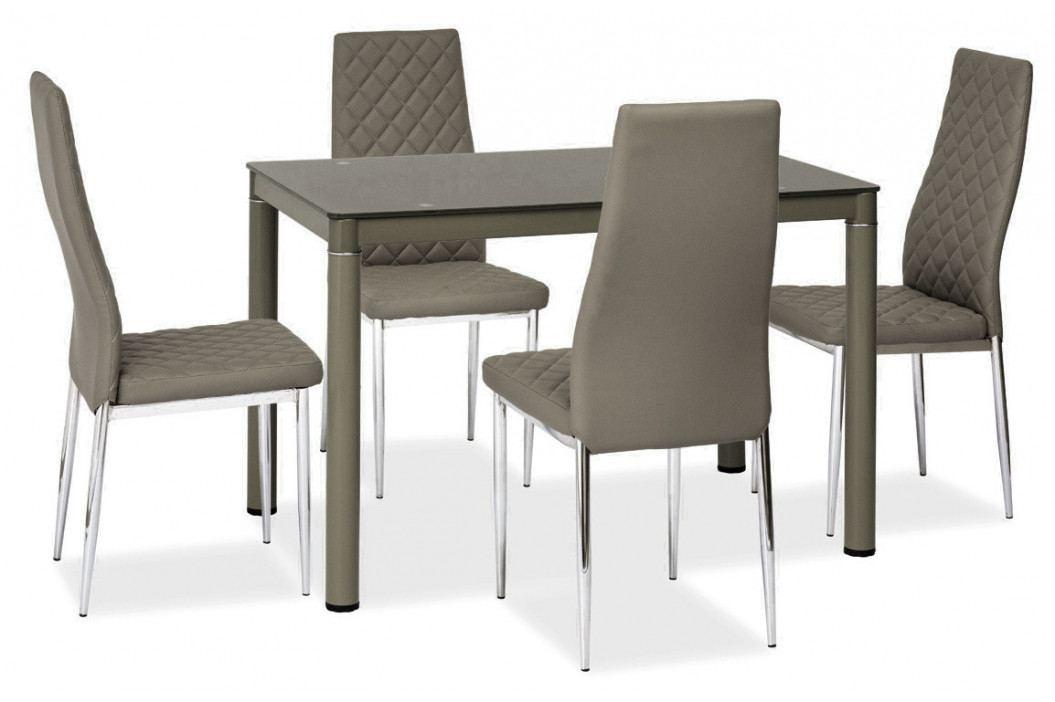 Casarredo Jídelní čalouněná židle H-262 šedá
