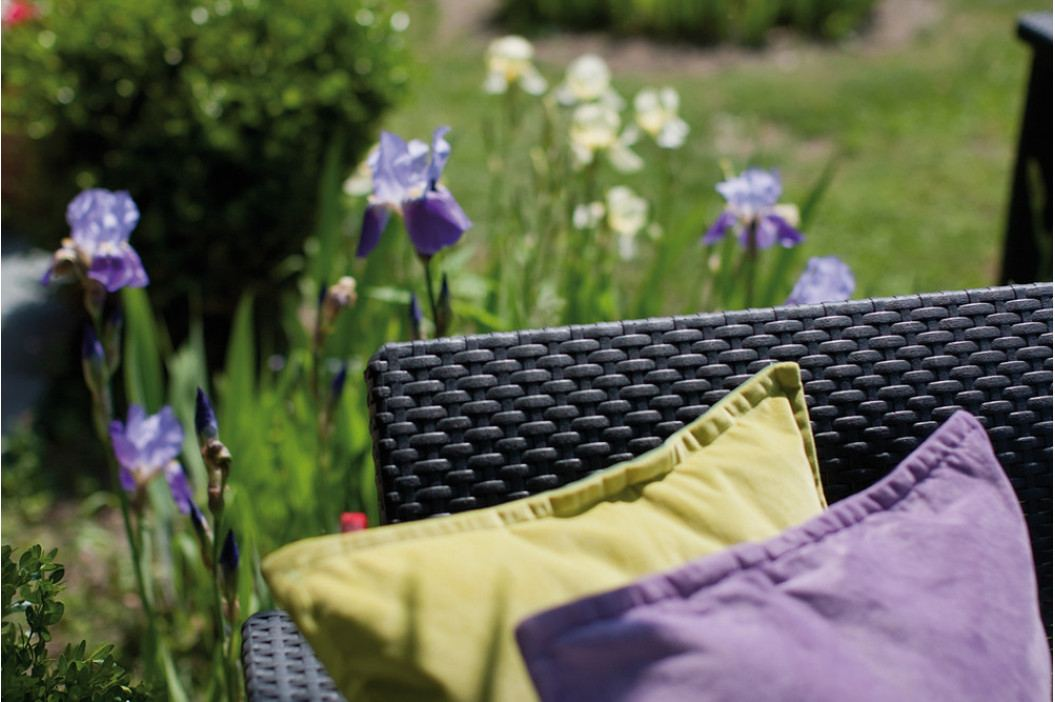 Rojaplast Zahradní set CORFU DUO - antracit obrázek inspirace