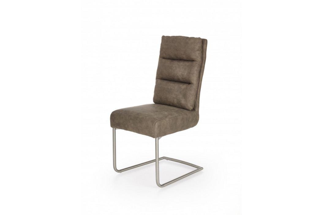 Halmar Jídelní židle K207 - šedá