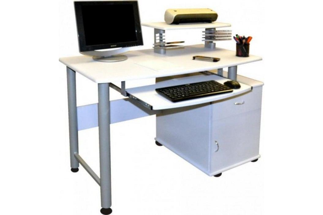 Falco PC stůl 2631 bílý