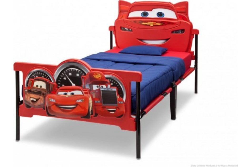 Forclaire Plastová 3D postel Auta