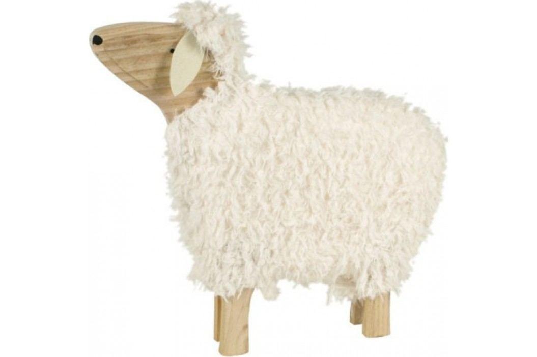 Dřevěná ovečka SHA522063 - 30 cm