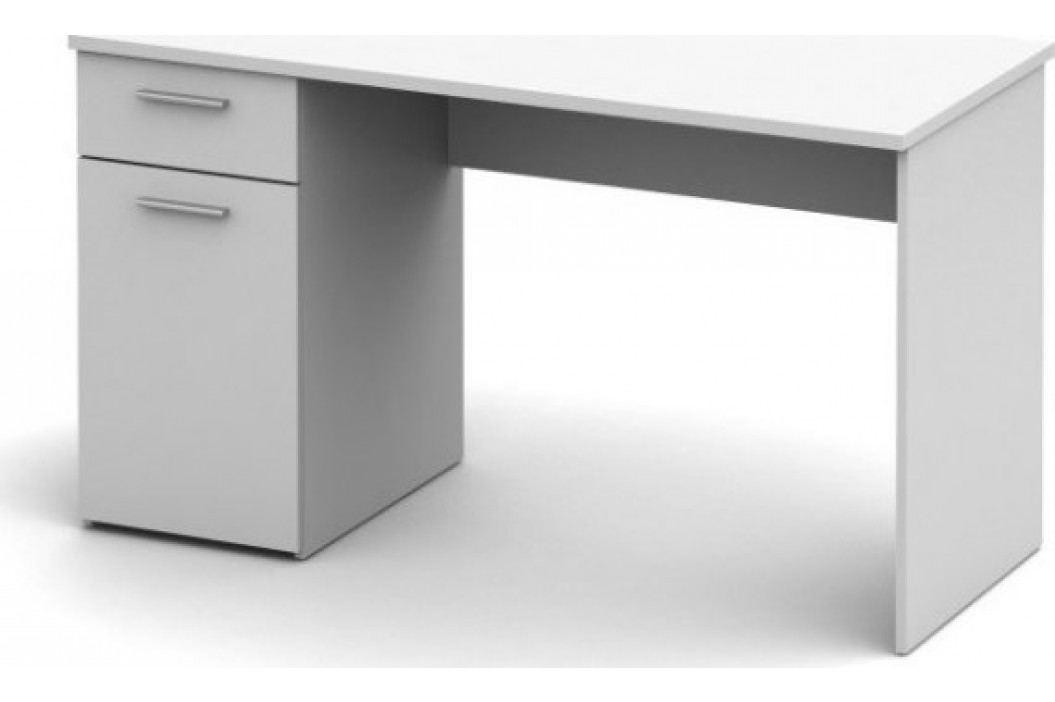 Tempo Kondela PC stůl EGON - bílý