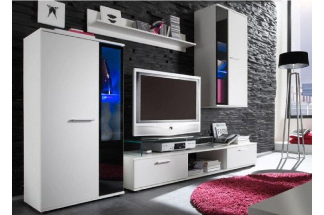 Tempo Kondela Obývací stěna SALESA - bílá