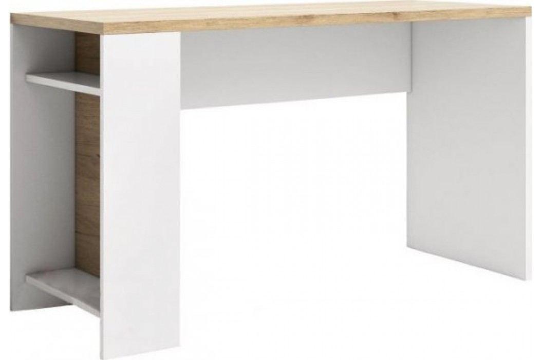 Tempo Kondela PC stůl DASTER LI14 - san remo / bílá