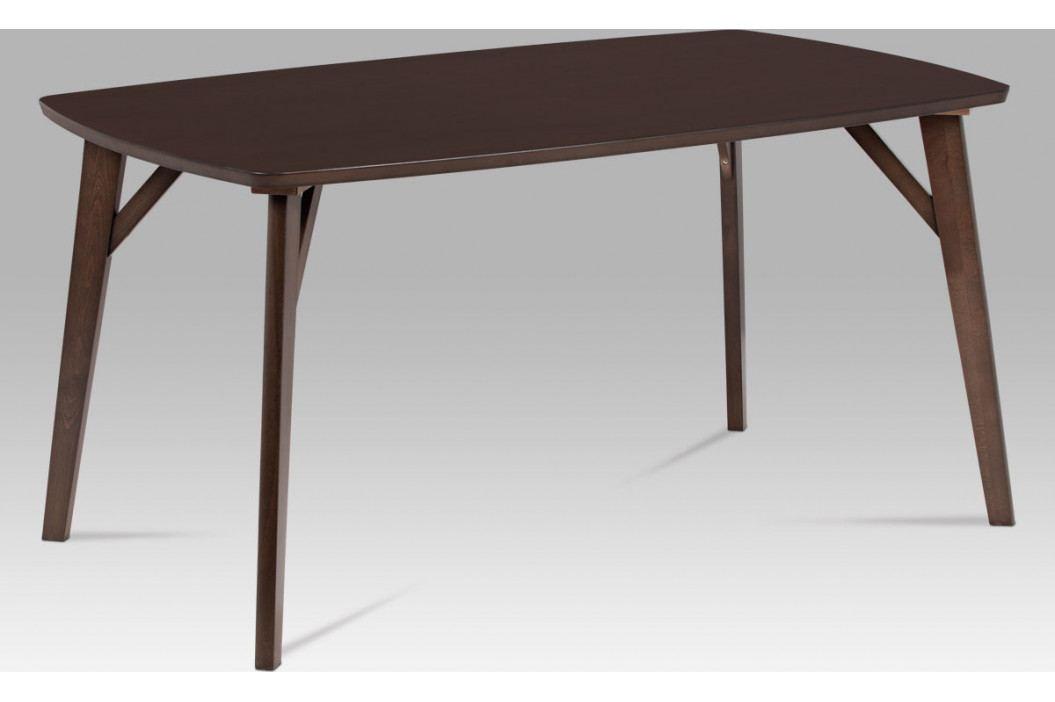 Autronic Jídelní stůl 150x90, barva ořech AUBT-6440 WAL