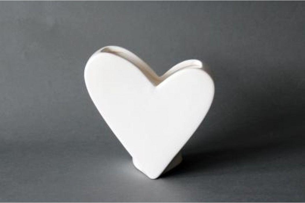 Váza srdce dolomit Velikost: větší