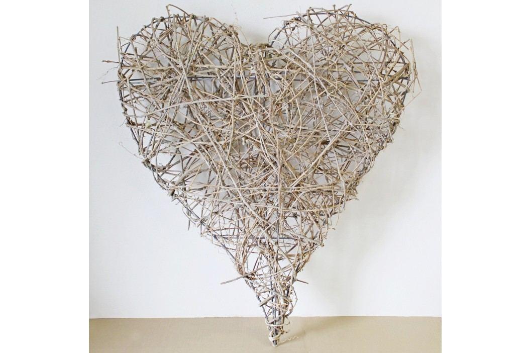 Srdce proutí 75x90cm