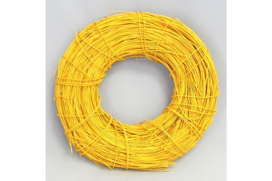 Pedik barevný 2mm 1kg Barva: žlutá