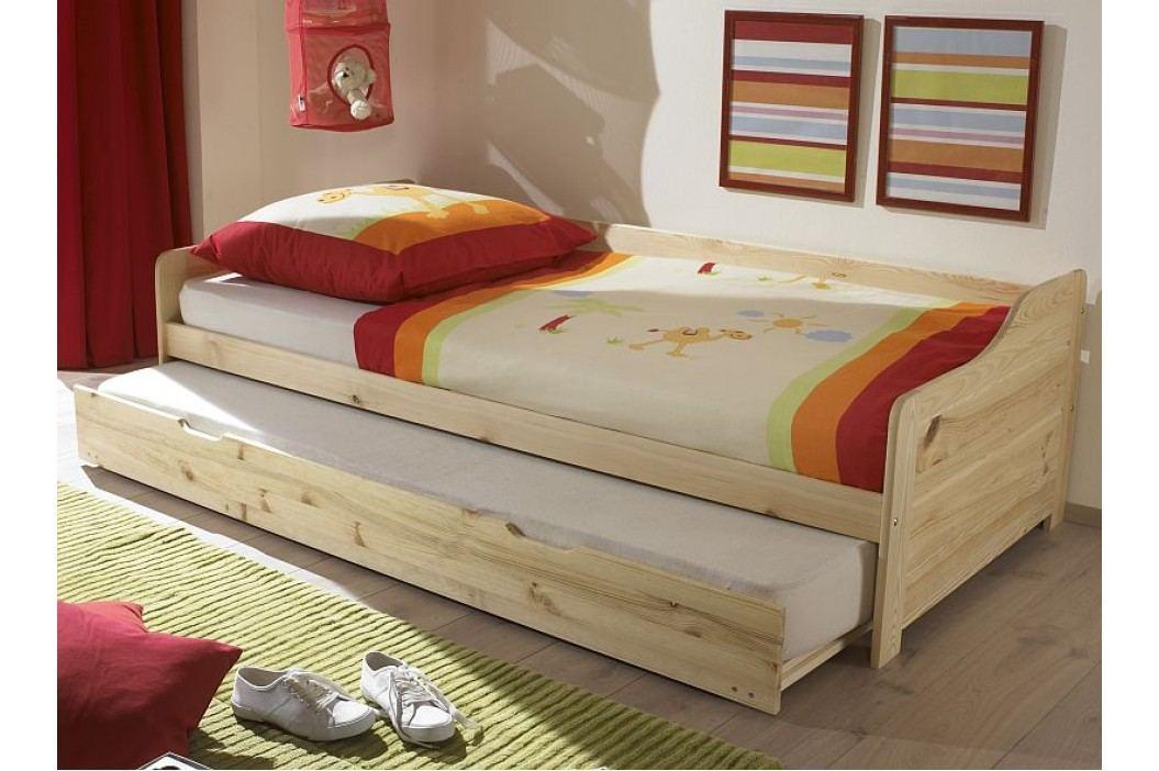 Velmi praktická postel BONNIE s rozměry postele 90x200