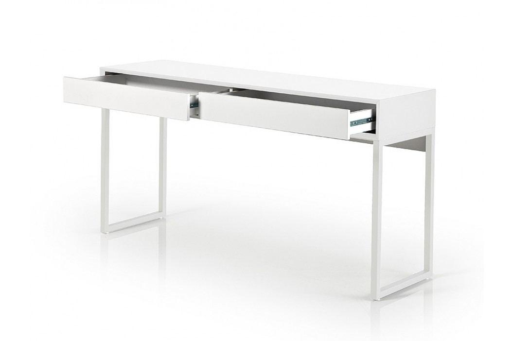 Sestava stůl s lavicí a zrcadlem MOLLY bílá