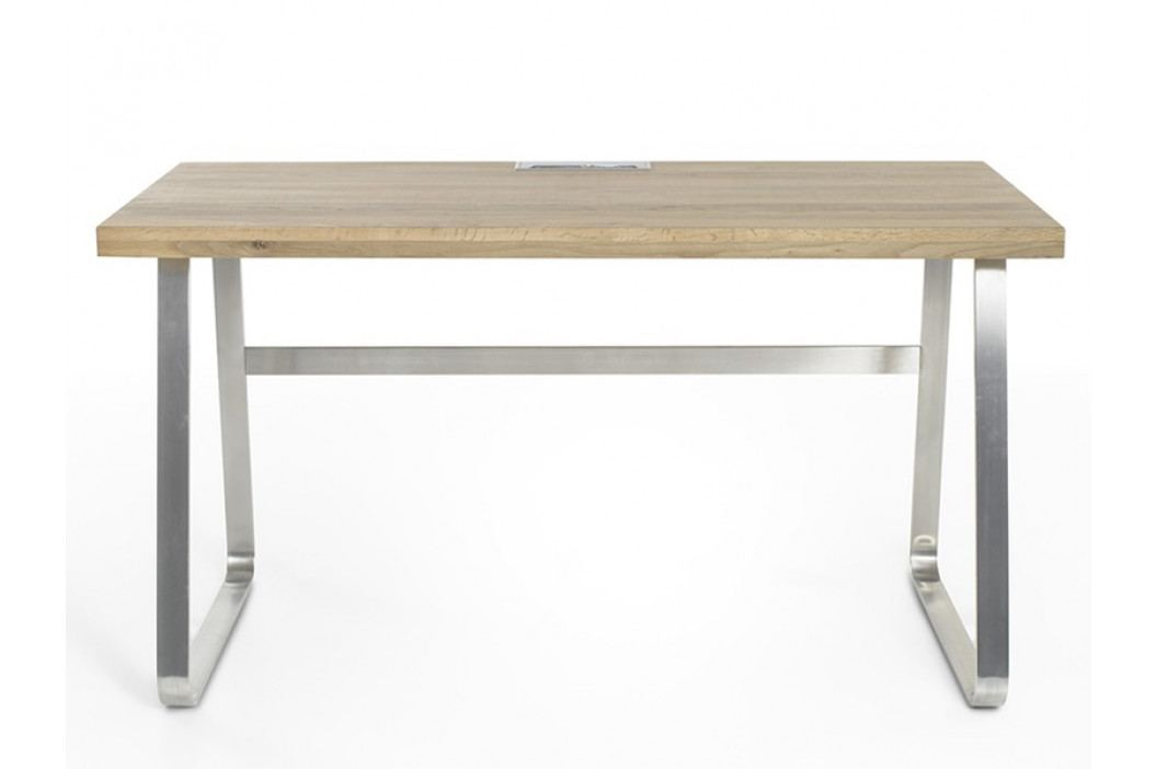 Dřevěný psací stůl BENO z dubového masivu