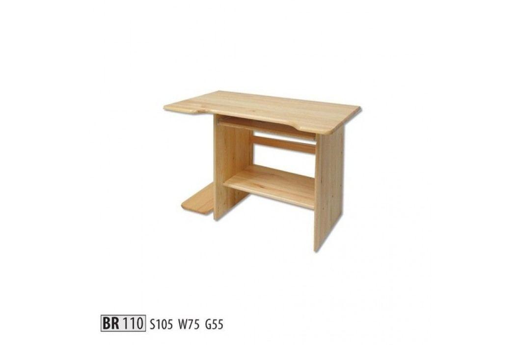 Psací stůl BR110 masiv borovice