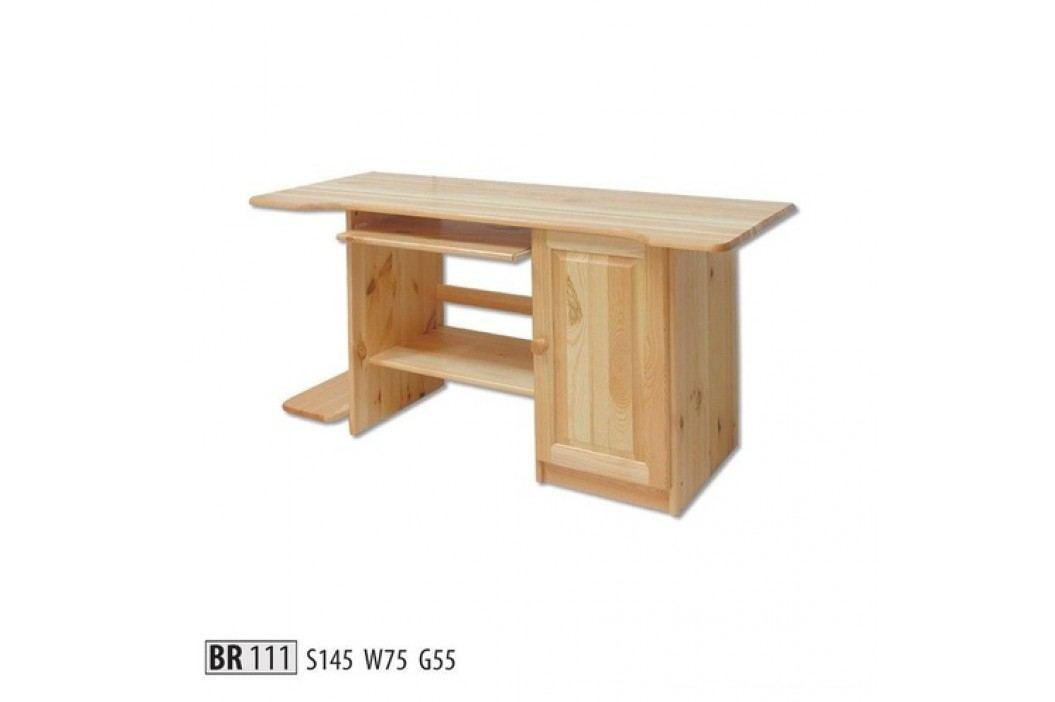 Psací stůl BR111 masiv borovice