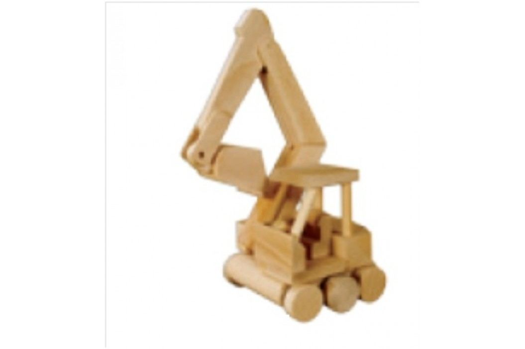 Dřevěná hračka bagr AD115