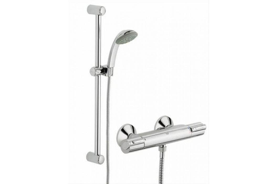 Grohe sprchová termostatická baterie GROHTHERM + sprchový set TEMPESTA MONO