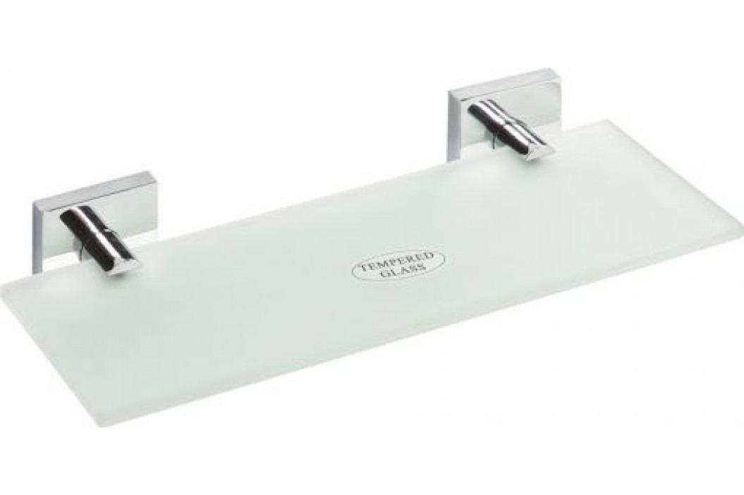 BETA polička skleněná 600x55x130mm, chrom ( 132102042 )