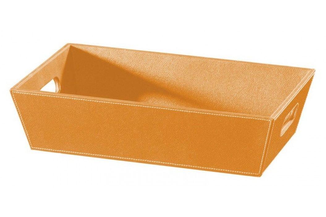 Odkládací miska oranžová ECO PELLE