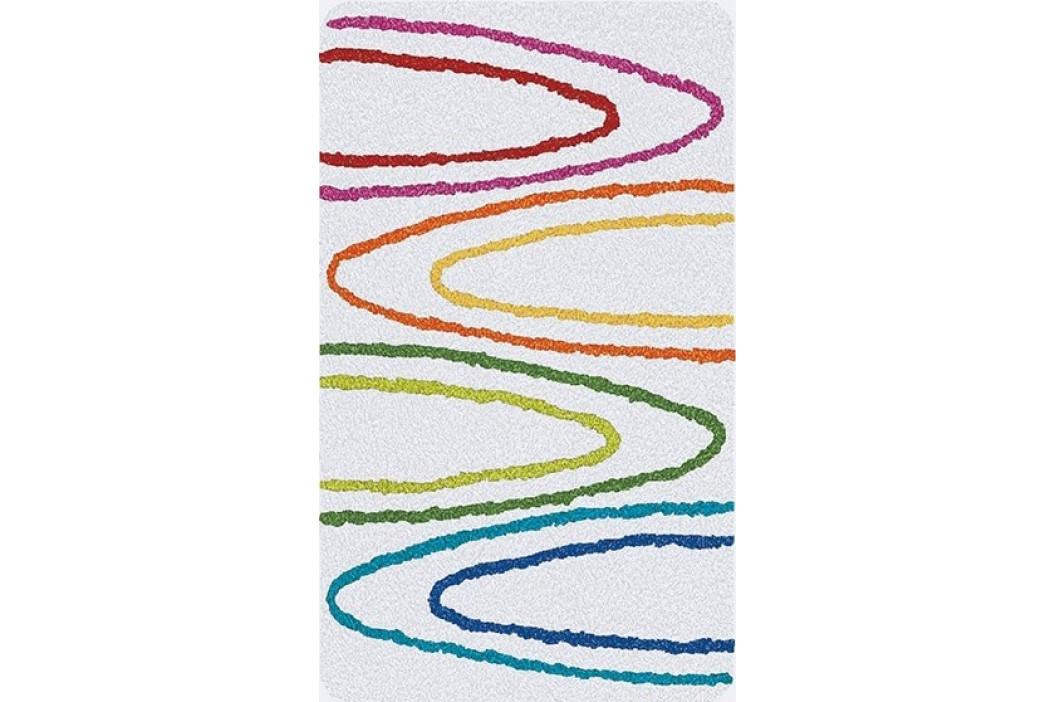 Koupelnová předložka PAINT 60x100 cm bílá (2394114360)