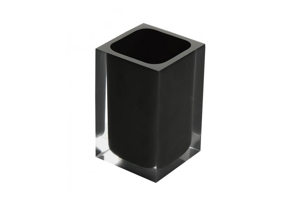 RAINBOW sklenka na postavení, černá ( RA9814 )