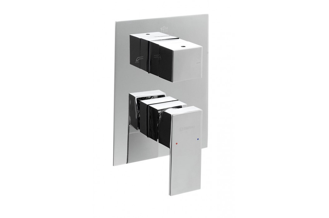 LATUS podomítková sprchová baterie, 3 výstupy, chrom ( 1102-44 )