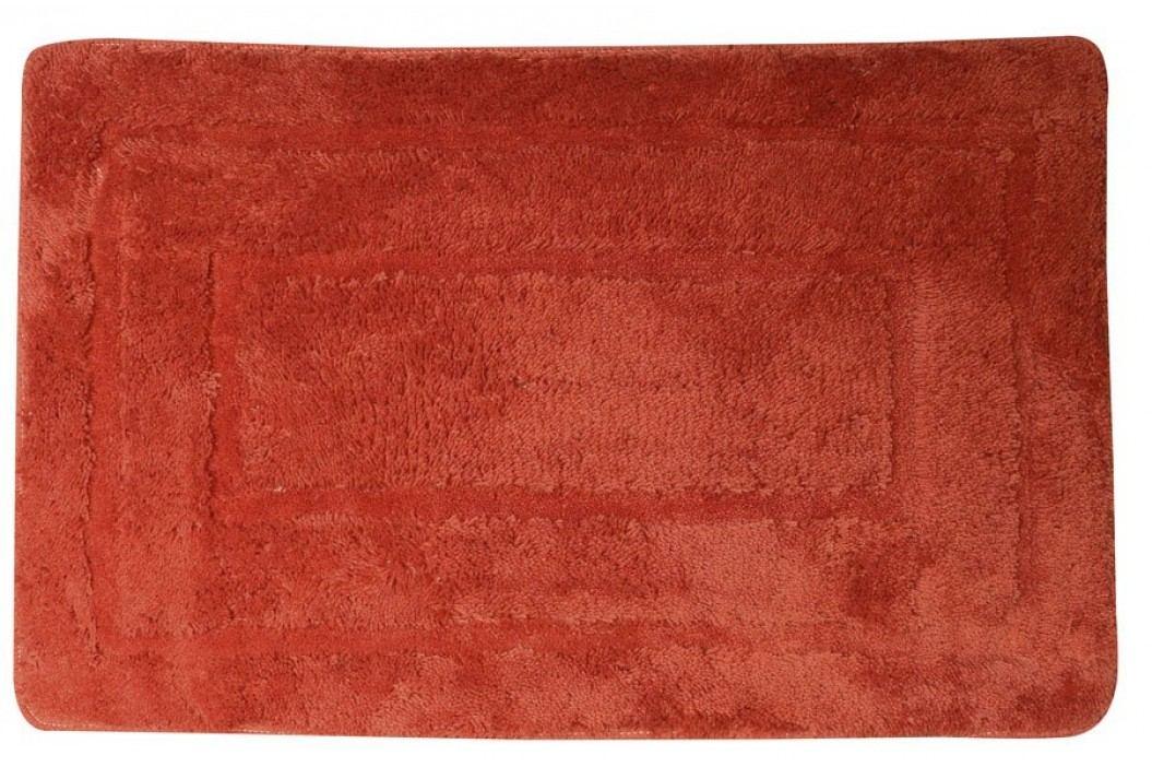 Koupelnová předložka, 50x80 cm, 100% acryl, protiskluz, červená ( KP03C )