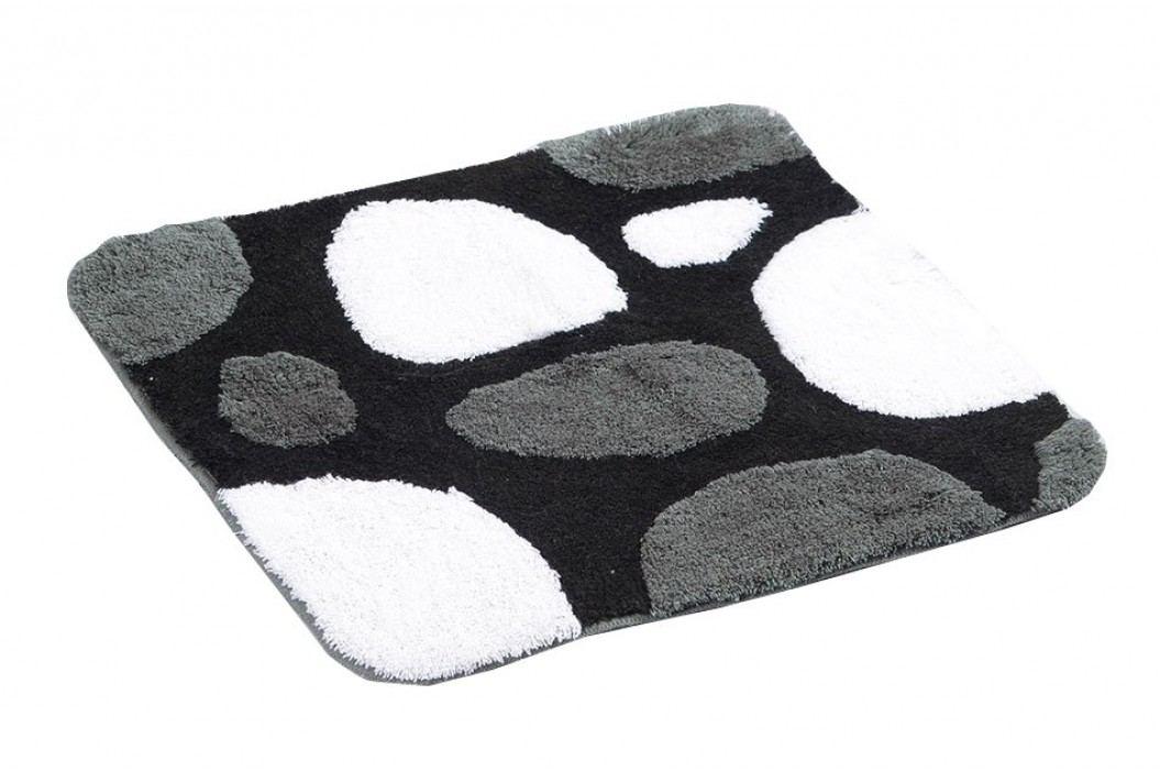 PEPPLE předložka 55x50cm s protiskluzem, akryl, černá ( 720810 )