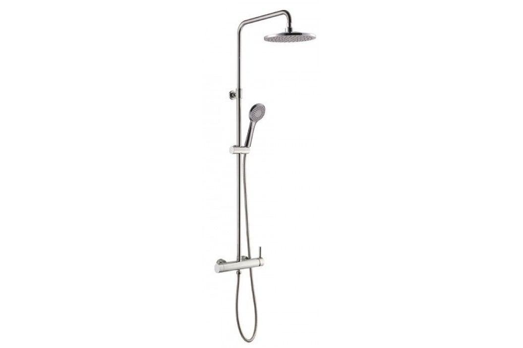 RHAPSODY sprchový sloup s pákovou baterií, kulatý, chrom                         ( R139 )