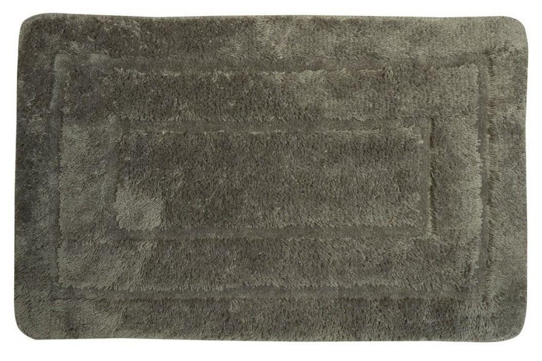 Koupelnová předložka, 50x80 cm, 100% acryl, protiskluz, tmavě šedá ( KP02S )