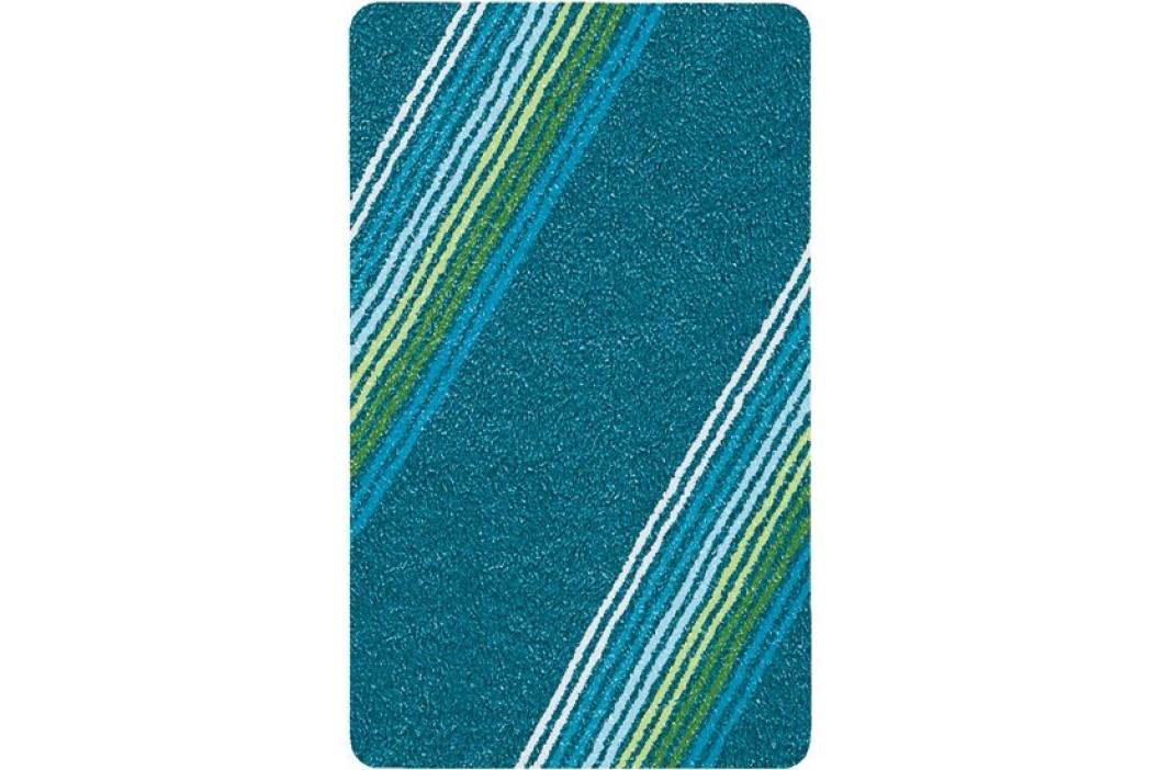 Koupelnová předložka RUN 60x90 cm, modrozelená (5519663556)
