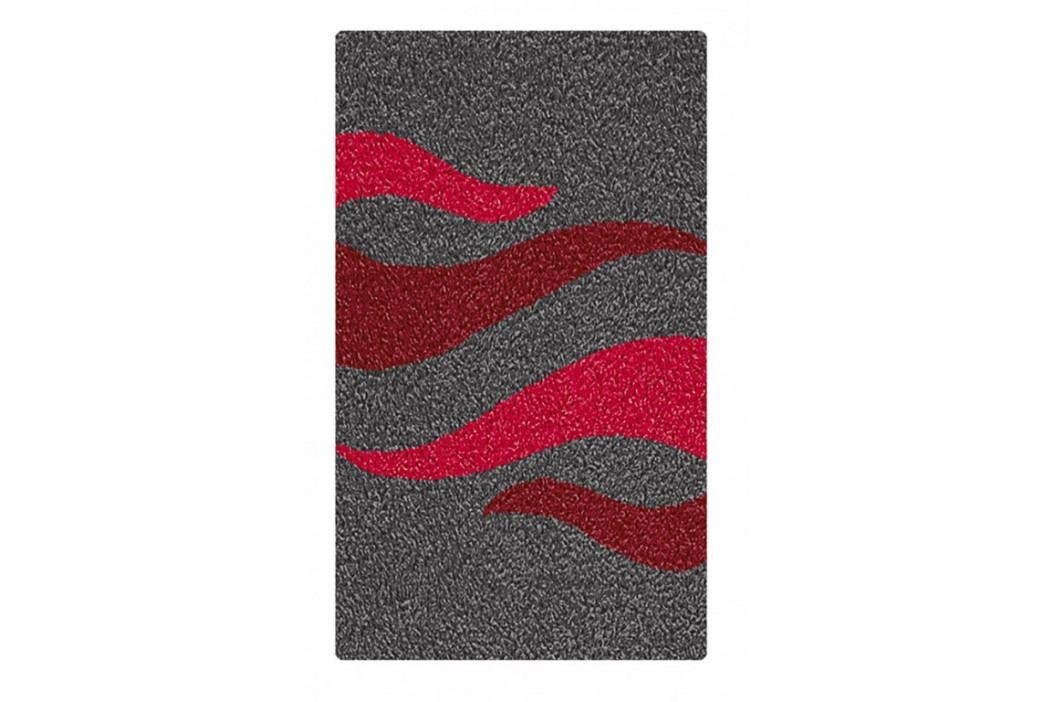 FLAME koupelnová předložka 60x90cm, červená (2706468519)
