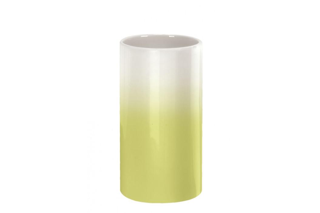PHOENIX kelímek na postavení, bílý/zelený (5816605852)