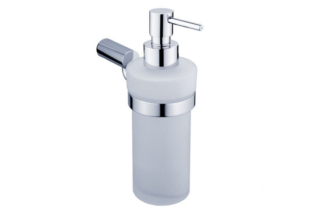 BORMO dávkovač tekutého mýdla matné sklo, chrom (BR 11031WL-26)